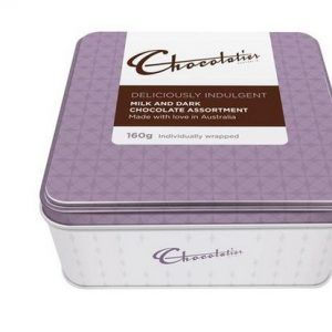 A bulk shipper of 6 Deliciously Indulgent Gift Tins.