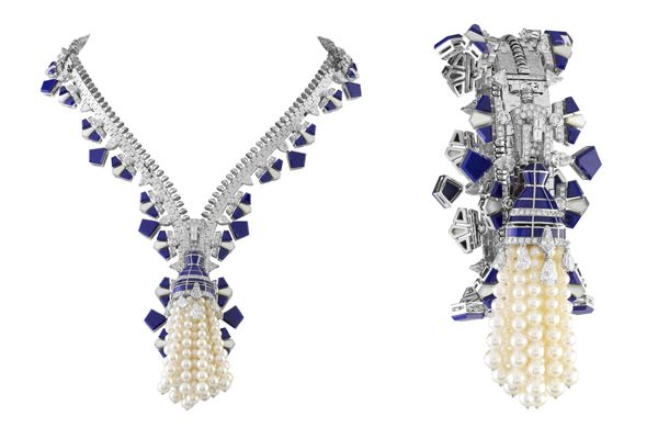 Van Cleef & Arpels - Collection ZIP necklace turns bracelet