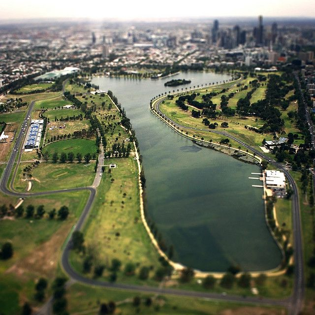 Albert Park Lake Grand Prix Track, Melbourne