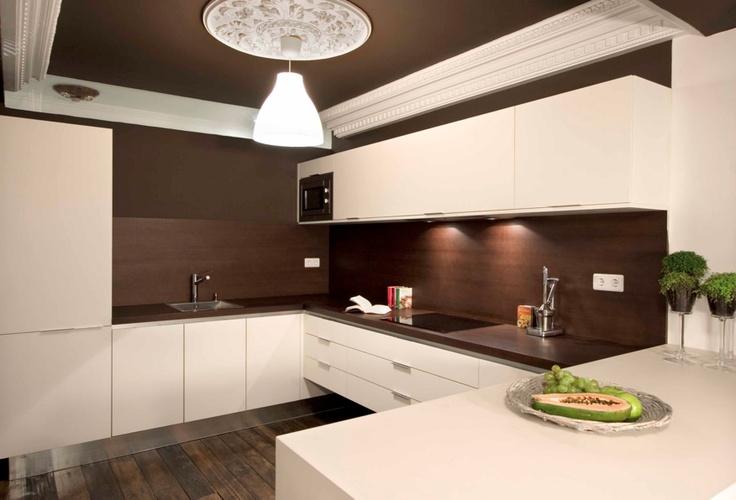 Fant stica cocina abierta al sal n fantastic open concept - Cocina abierta ...