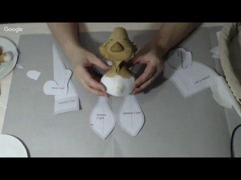 Мастер класс Гномик. Техника грунтованный текстиль - YouTube