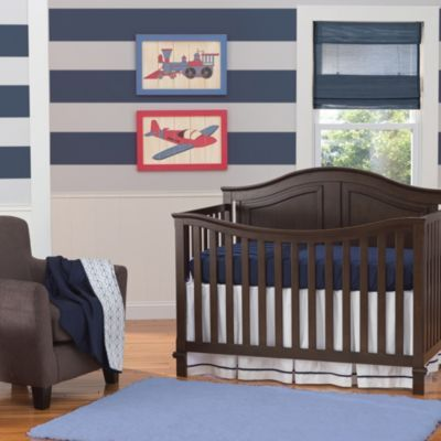 Summer Infant® Classic Bedding Set in Nautical Navy - buybuyBaby.com