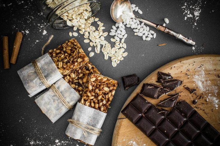 Cereal Bars / Snack / Chocolate / Food photography