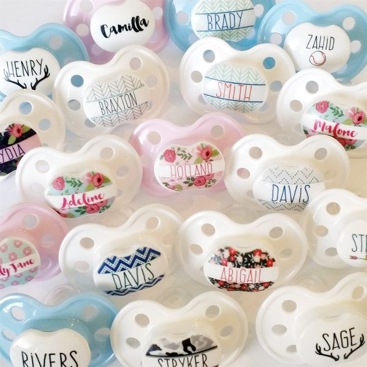 Not only will your baby have the cutest and most unique pacifier around, they will also have the best quality. Our pacifiers are BPA free, support healthy oral development, and made with lots of love.