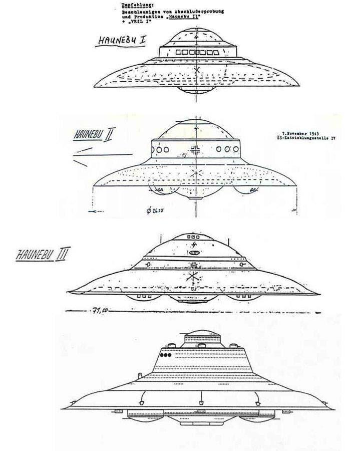 17 best images about pleiadian adamski haunebu ufo on technology paper models
