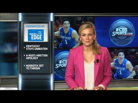 Sports Update: 2/18 (CBS Sports). Jamie Erdahl fills you in on the latest around the sports world.