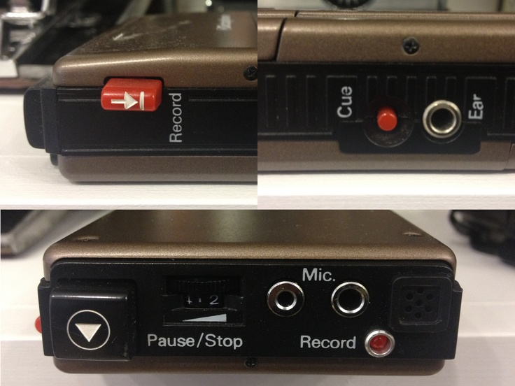 Dictaphone - record button