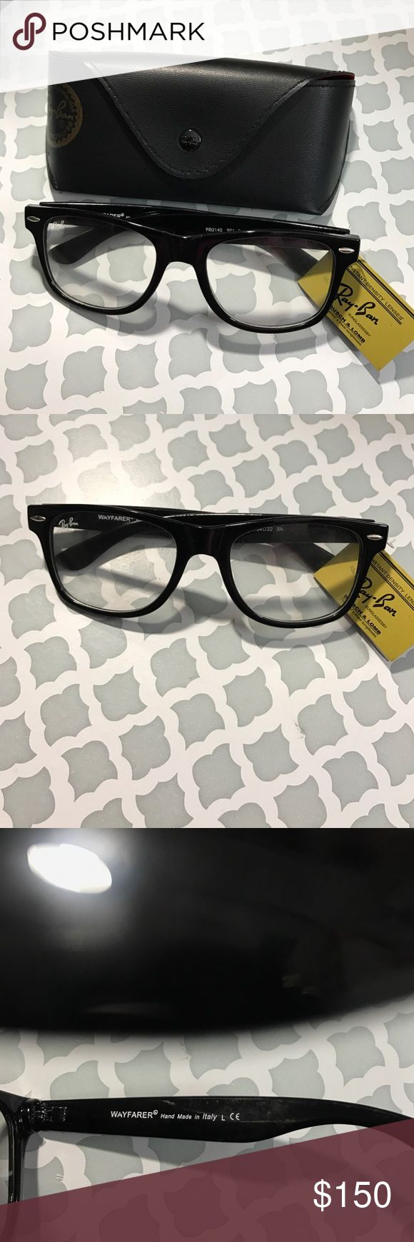 NWT Ray-Ban Wayfarer Eyeglasses I'm selling this Ray-Ban Wayfarer Eyeglasses. Brand new with tag. Made in Italy. You can use this for prescription lenses. I'm selling this coz I have a new glasses covered by my ins. Other