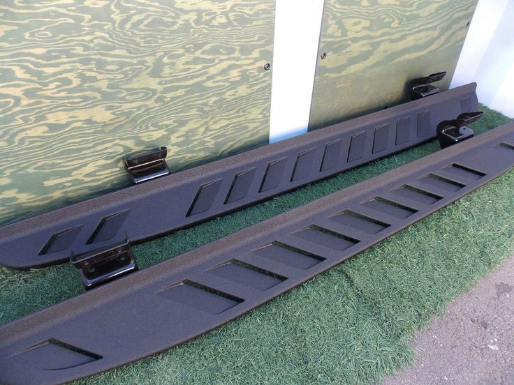 ford svt raptor running boards factory oem original crew cab side steps  list  truck