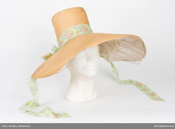 Hatt, damehatt, stråhatt, hat, straw hat, chapeau femme, Chapeau de paille