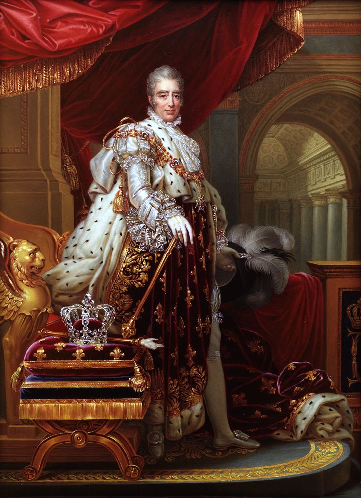 Charles X 1757 – 1836) was known for most of his life as the Count of Artois before he reigned as King of France from 16 September 1824 until 2 August 1830. An uncle of the uncrowned King Louis XVII, and younger brother to reigning Kings Louis XVI and Louis XVIII, he supported the latter in exile and eventually succeeded him. His rule of almost six years ended in the July Revolution of 1830, which resulted in his abdication and the election of Louis Philippe, Duke of Orléans, as King of the…