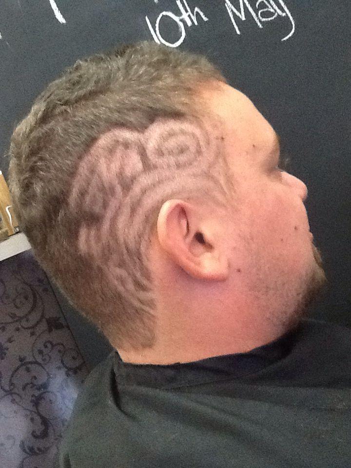 Hair tattooing