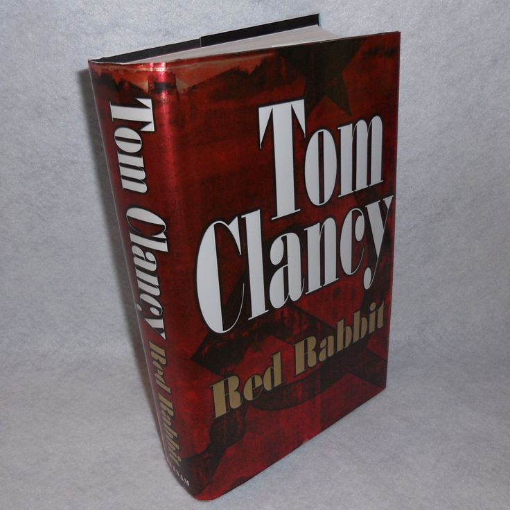 Red Rabbit by Tom Clancy Novel Jack Ryan Book 1st Edition #TomClancy