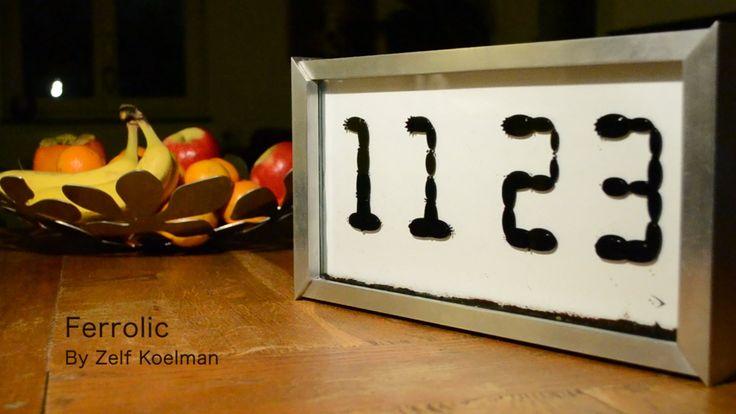 Ferrolic clock
