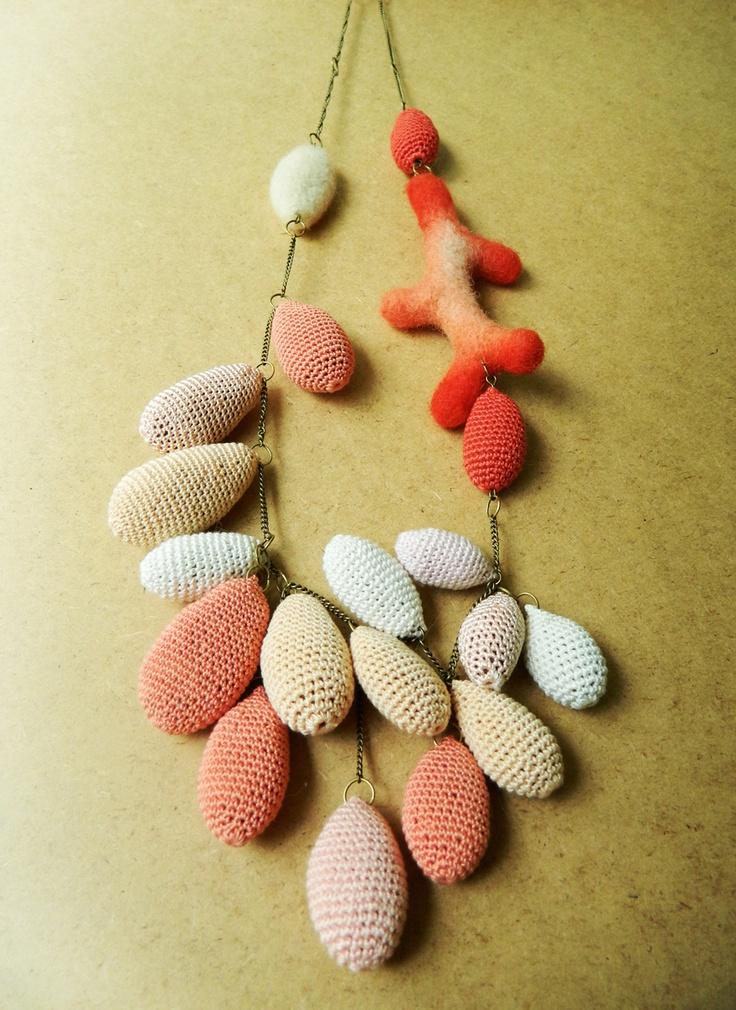"Colier ""Wool Inspiration"" ( Rezervat) (119 LEI la lida.accessories.breslo.ro)"