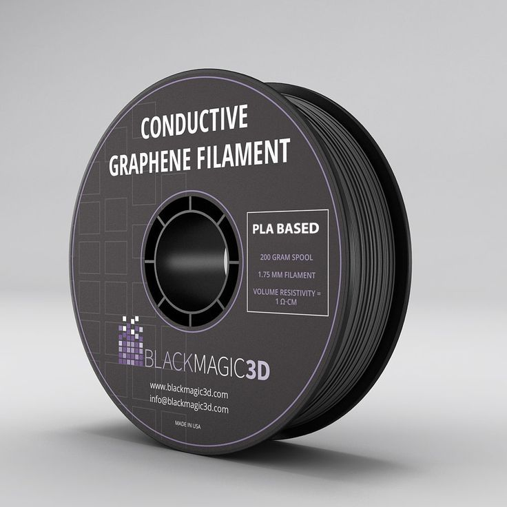 Graphene-enhanced thermoplastic for 3D printing conductive And flexible