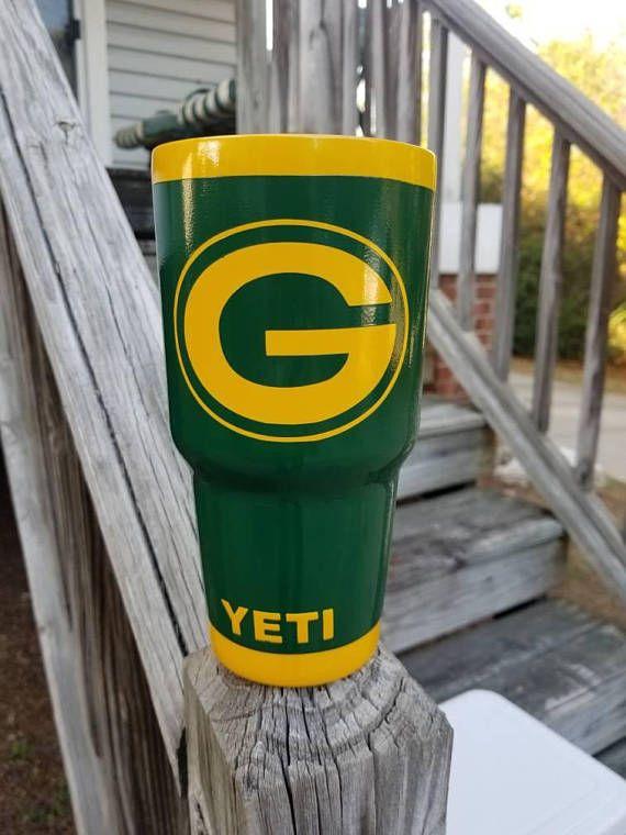 Yeti Rambler Sale >> Custom Listing For Green Bay Packers 30 Oz Yeti Rambler No Decals