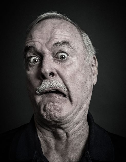 John Cleese by Andy Gotts