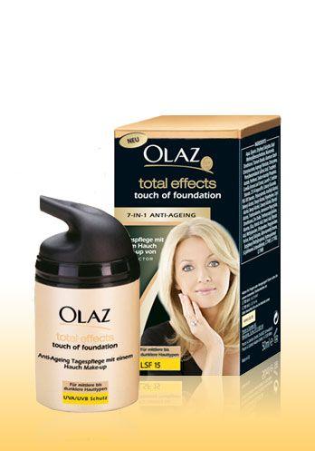 Oil of Olaz Total Effects Touch of Foundation - Testberichte und Preisvergleich von Shops