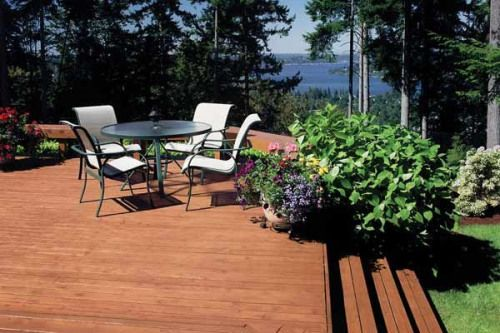 If You Prefer The Look Of Natural Wood Try A Translucent Wood Finish Like Flood Cwf Uv Translucents Offer Prot With Images Exterior Wood Stain Exterior Wood Staining Wood