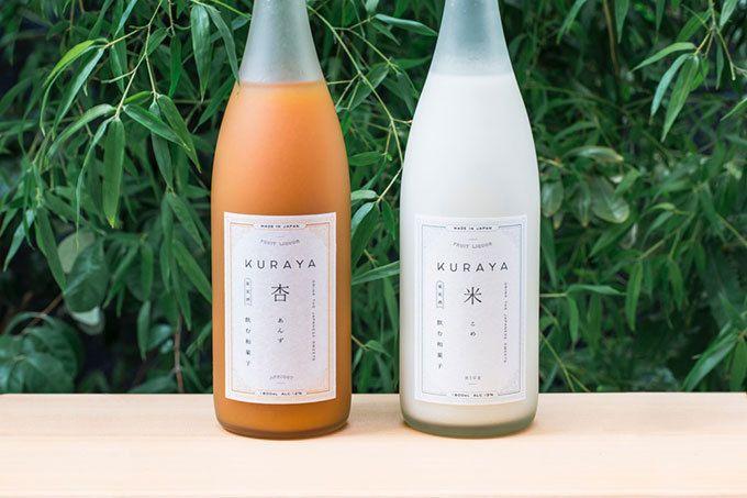 """""""飲む和菓子""""をコンセプトにしたお酒「クラヤ(KURAYA)」シリーズ"""