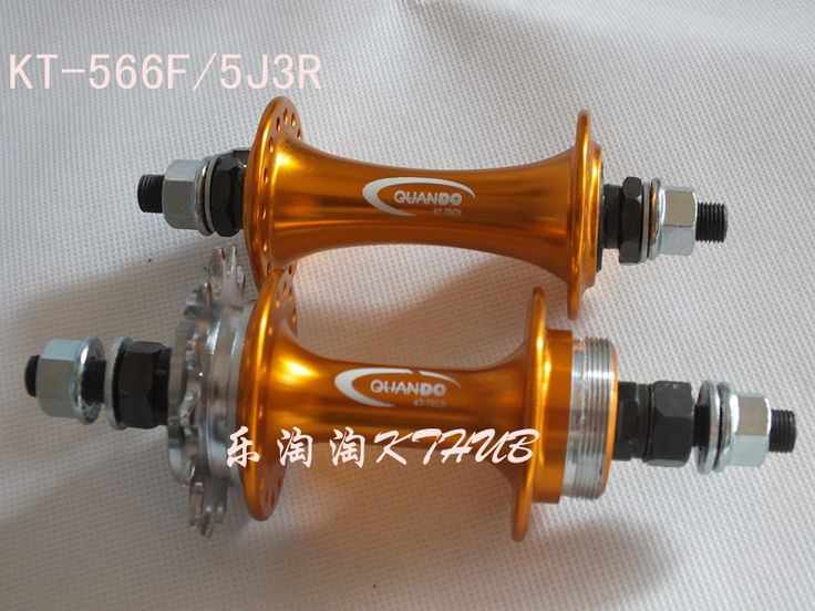 Quando fixed gear hub single speed bike bicycle hubs 32 36 holes kt 566F 5J3R-inBicycle Hubs from Sports & Entertainment on Aliexpress.com $35