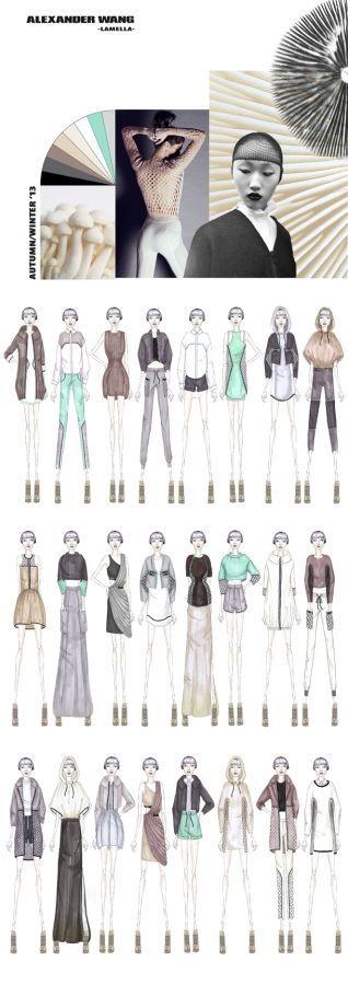 Fashion Portfolio - fashion design with a sports luxe aesthetic, based on the organic shapes of mushrooms & fungi; fashion illustration // Ruth Godding: