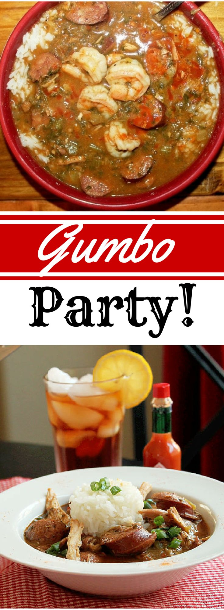It's that time of year again! Yes, the weather is warming up and I am preparing to throw my annual Gumbo Party!