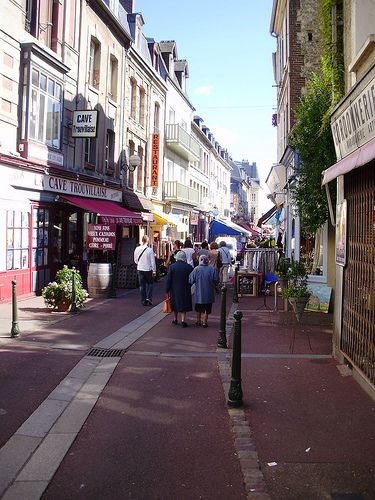 Deauville downtown