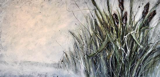 Orange Art Gallery - Julie Berthelot - Riverside II; Purchase Online. Art. Urban Nature . Painting