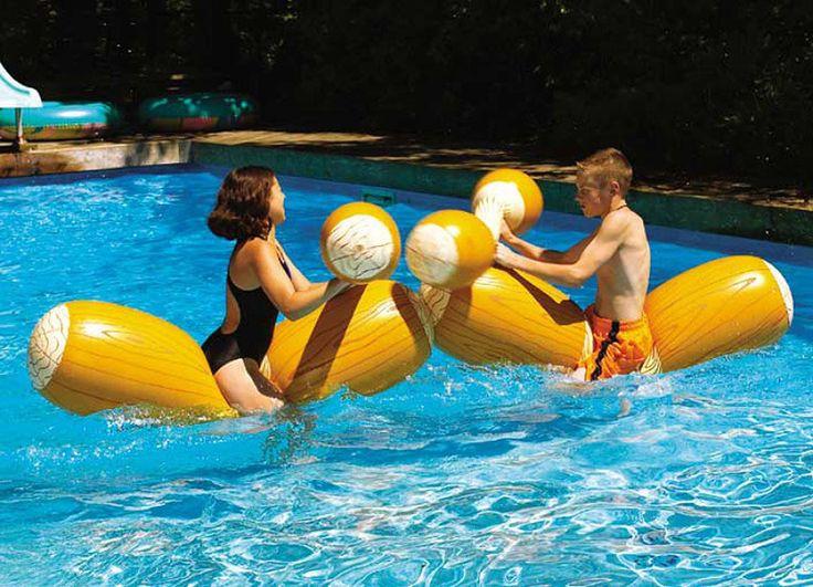 Colchonetes e Jogos Aquáticos para Se Divertir Na Piscina | Ideias Construção Piscinas