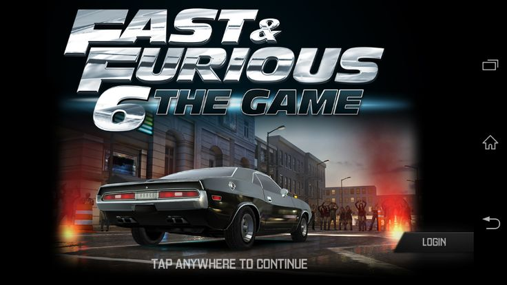 APK BARU: Fast & Furious 6 the Game v4.1.2 Apk+Data