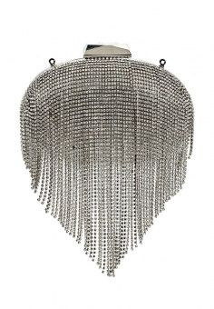Клатч Olga Berg, цвет: серебряный. Артикул: OL001BWKSQ54. Женские аксессуары…