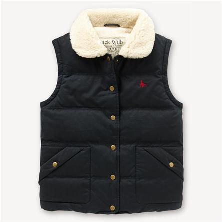 Chatsworth Gilet by Jack Wills (now that I live in the country)