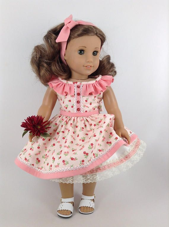 American Girl 18-inch Doll Clothes Floral Sundress