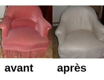 les 25 meilleures id es de la cat gorie recouvrir un fauteuil sur pinterest comment r nover un. Black Bedroom Furniture Sets. Home Design Ideas
