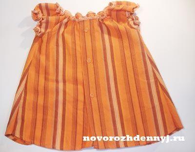 платье из папиной рубашки.выкройка( 62-92)
