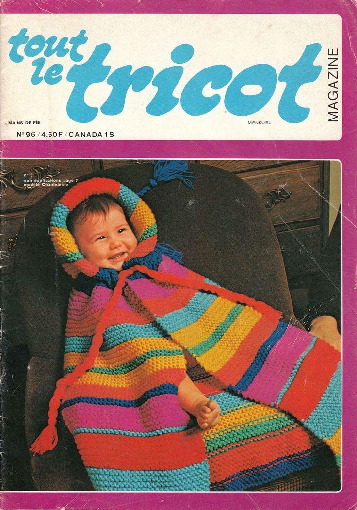 DIY vintage, couture, tricot, loisirs créatifs, années 70: Tout le tricot N°96