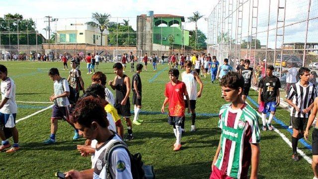 Caça talentos - Escolinha oficial do Fluminense seleciona talentos em Manaus A Guerreirinhos, escola oficial do clube, realiza seleção de a