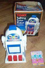 Tomy Talking Tutor Robot :)