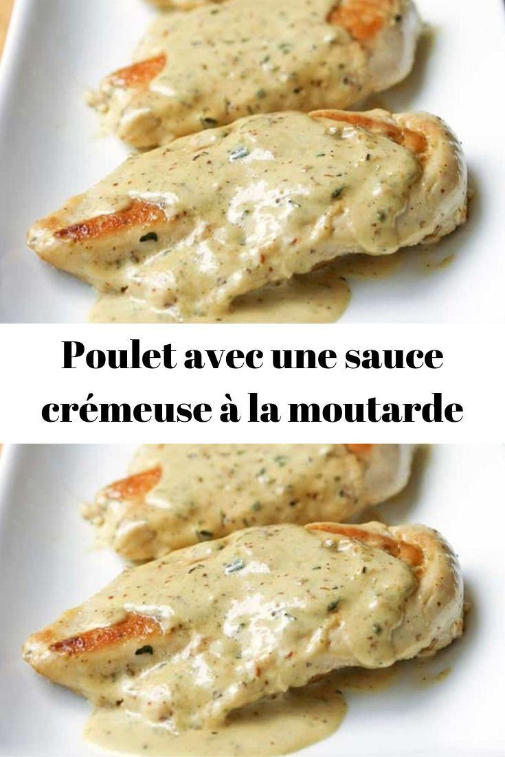 Poulet avec une sauce crémeuse à los angeles moutarde – #à #Avec #crémeuse #los angeles #mouta…
