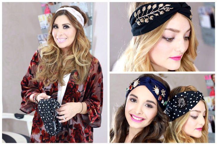 DIY: Cómo hacer un turbante.