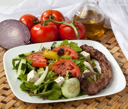 Kubideh Salad Traditional Dishes - Traditional Persian Dishes to Take Out, Catering