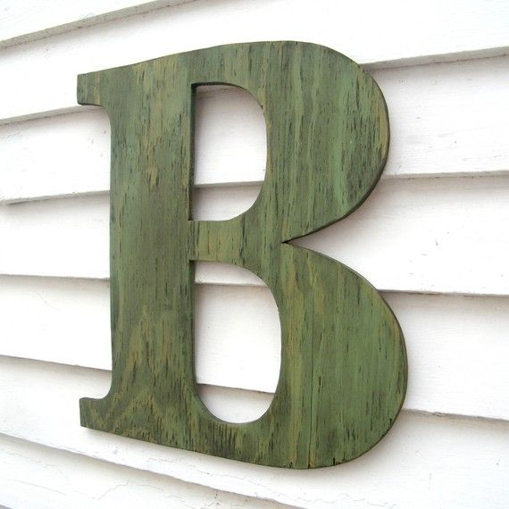 Best 25 Large Wooden Letters Ideas On Pinterest