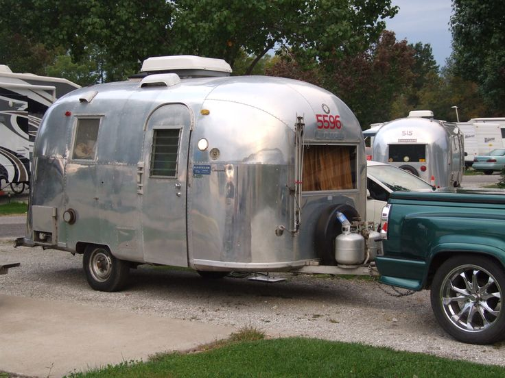 not always the only Airstream in the Park