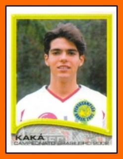 #Figuritas Kaká Brasileirao 2002.