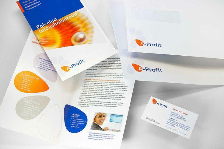 A-Profit – visual idendity.  Intro Design.