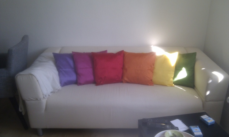 Rainbow couch