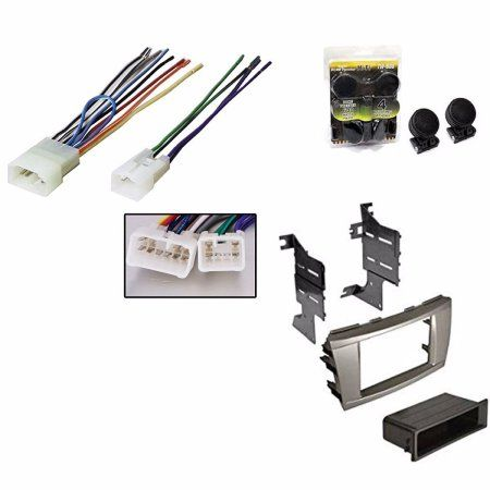 TOYOTA CAMRY 2007 2008 2009 2010 2011 INSTALLATION MOUNTING KIT WIRE HARNESS + ABSOLUTE TW600