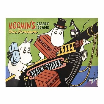 With subtle satire that adults can enjoy yet problem-solving skills that young ones will gain, Moomin makes for a perfect read for the whole family.  Moomin's Desert Island Book - $9.95